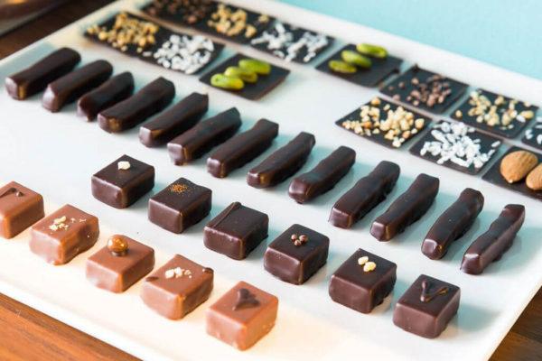 hilde devolder chocolatier tasting plate 2017 complete