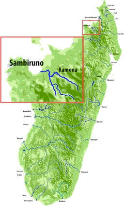 map sambiruno madagascar