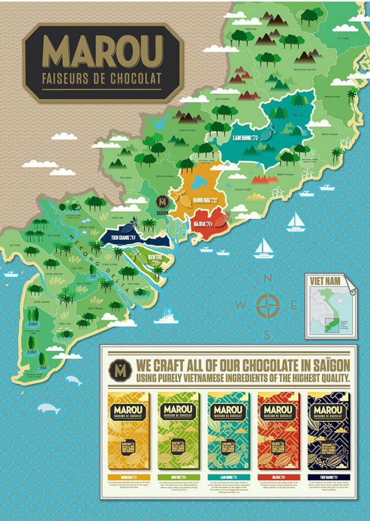 marou faiseurs de chocolat vietnam map origins