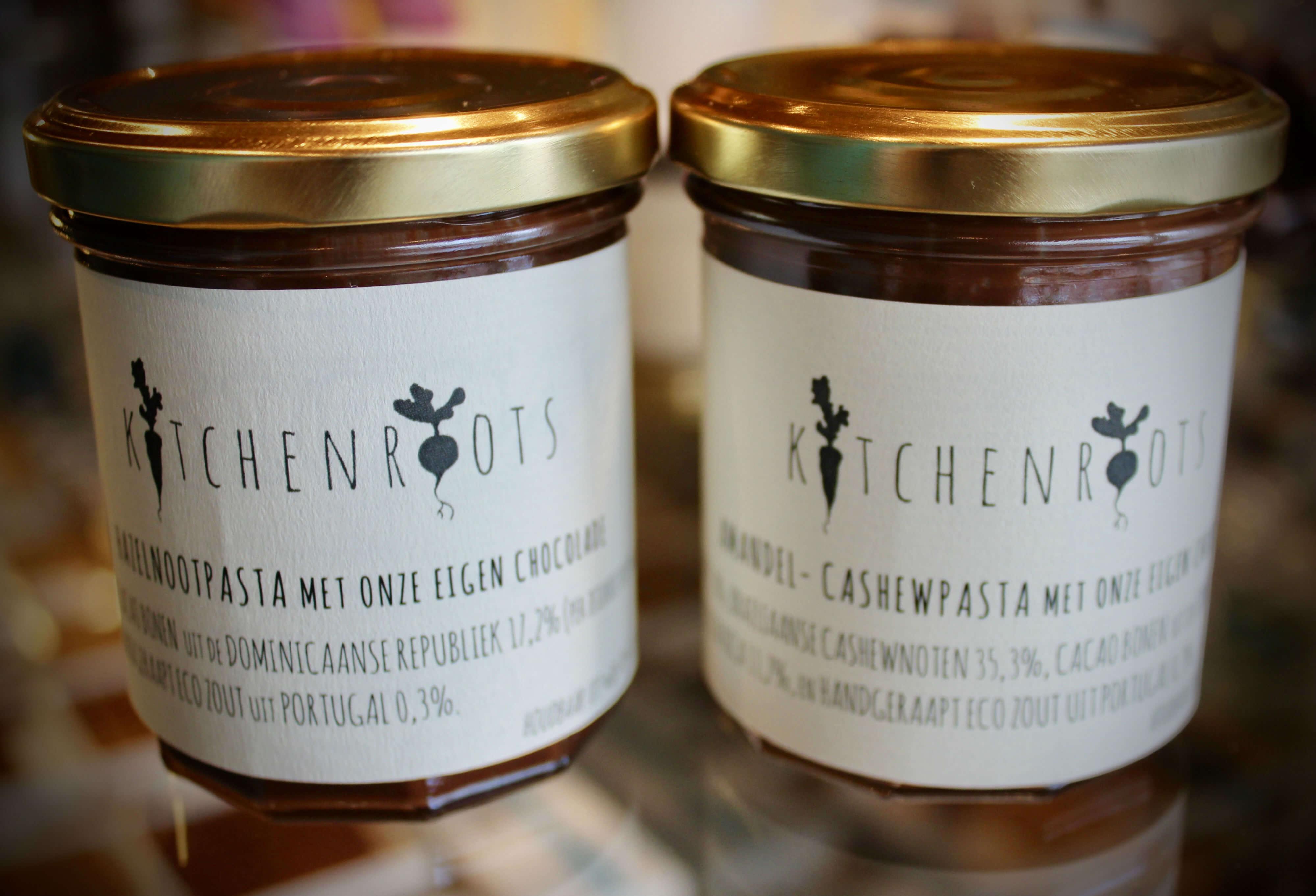 hazelnut spread and almond- cashew spread  may 2018