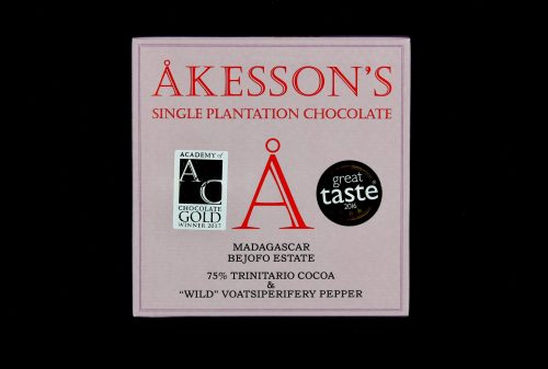akessons madagascar bejofo estate 75 trinitario cocoa wild voatsiperifery pepper