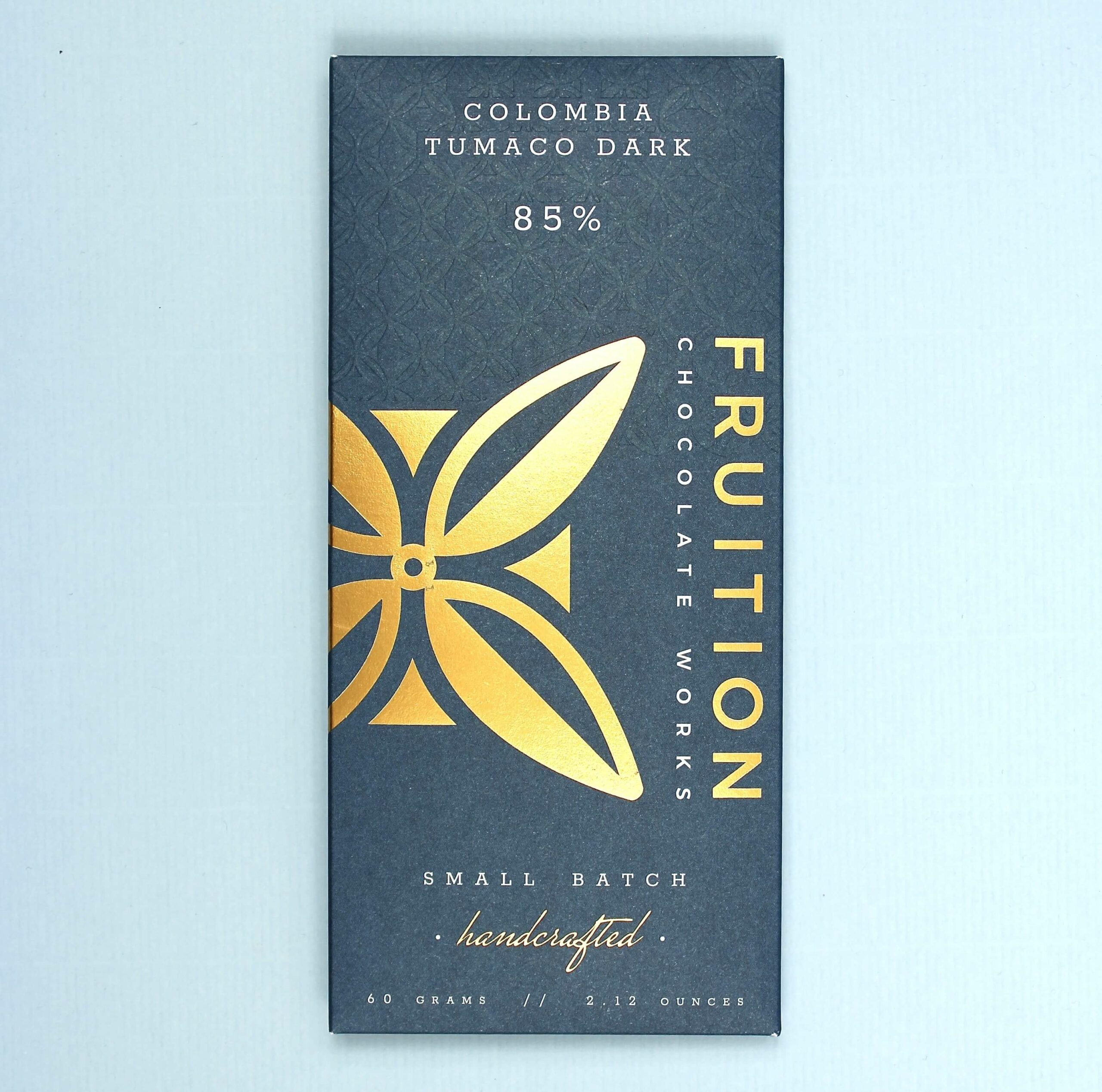 fruition chocolate works colombia tumaco dark 85