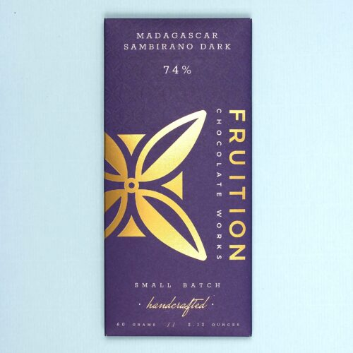 fruition chocolate works madagascar sambirano dark 74