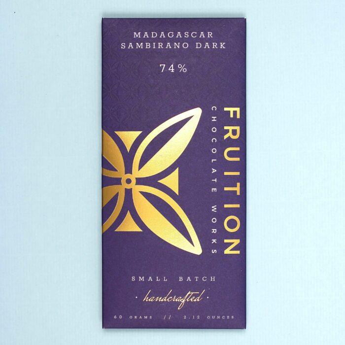fruition chocolate works madagascar sambirano dark 74