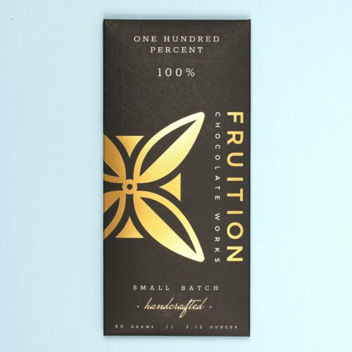 fruition chocolate works one hundred percent 100