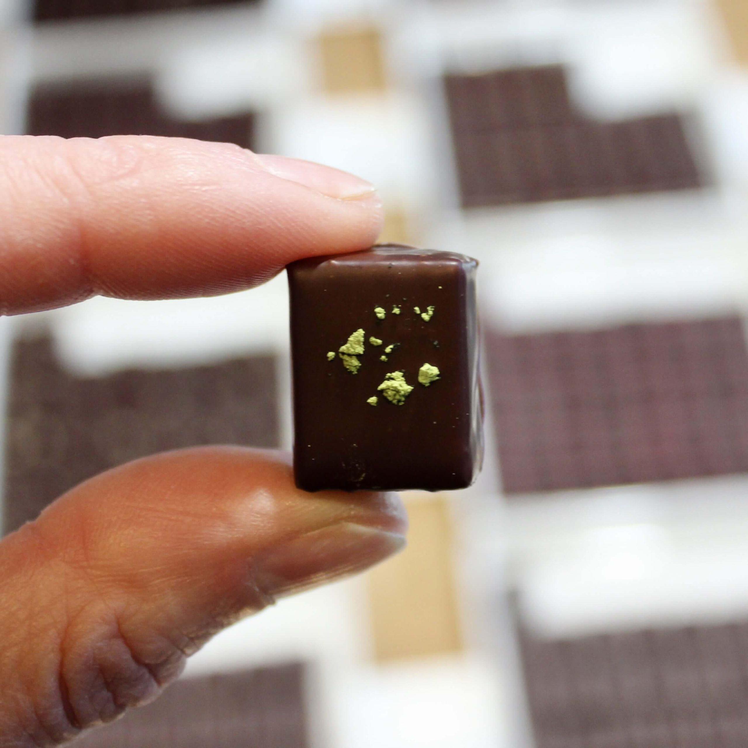 hilde devolder chocolatier matcha tea