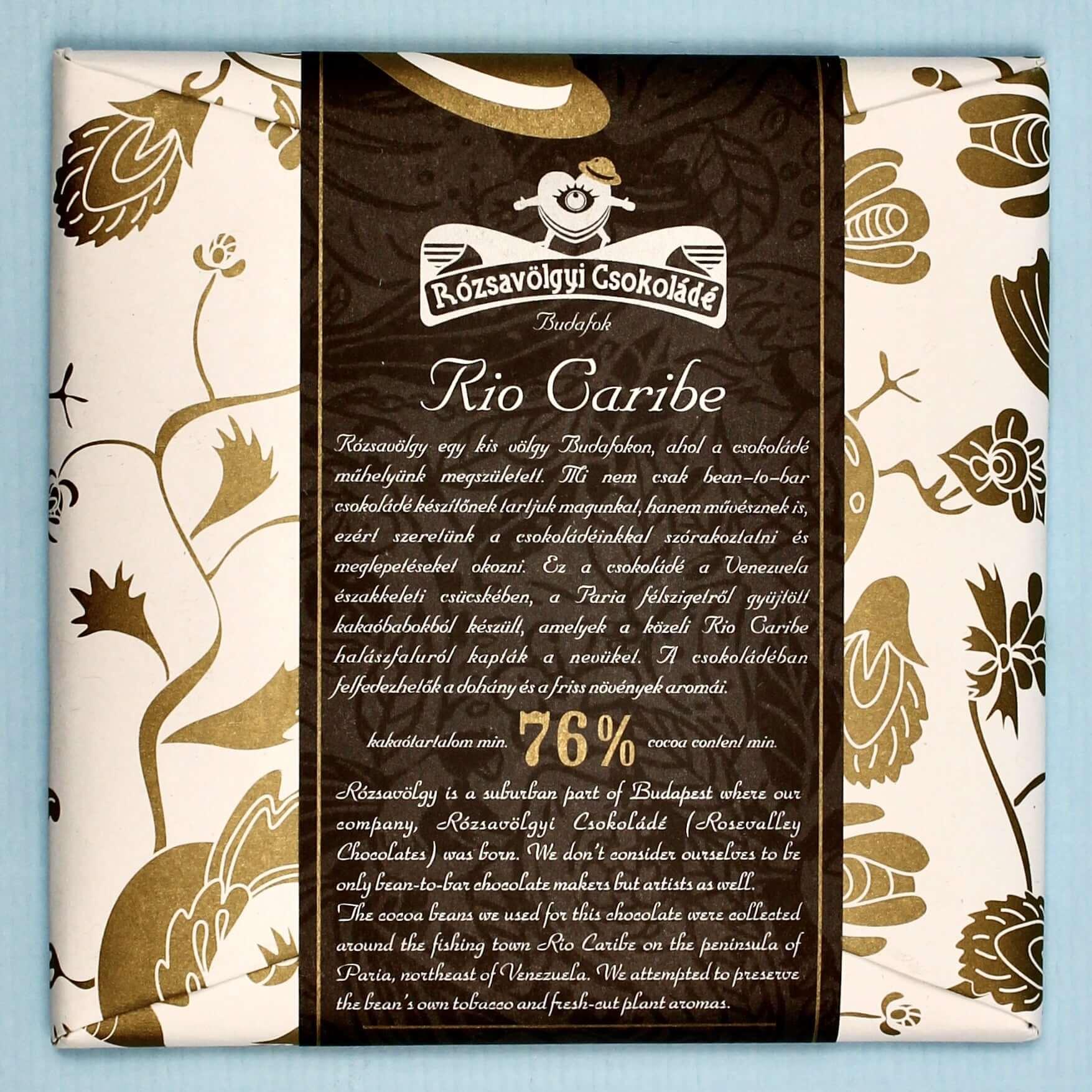 rozsavolgyi csokolade rio caribe 76