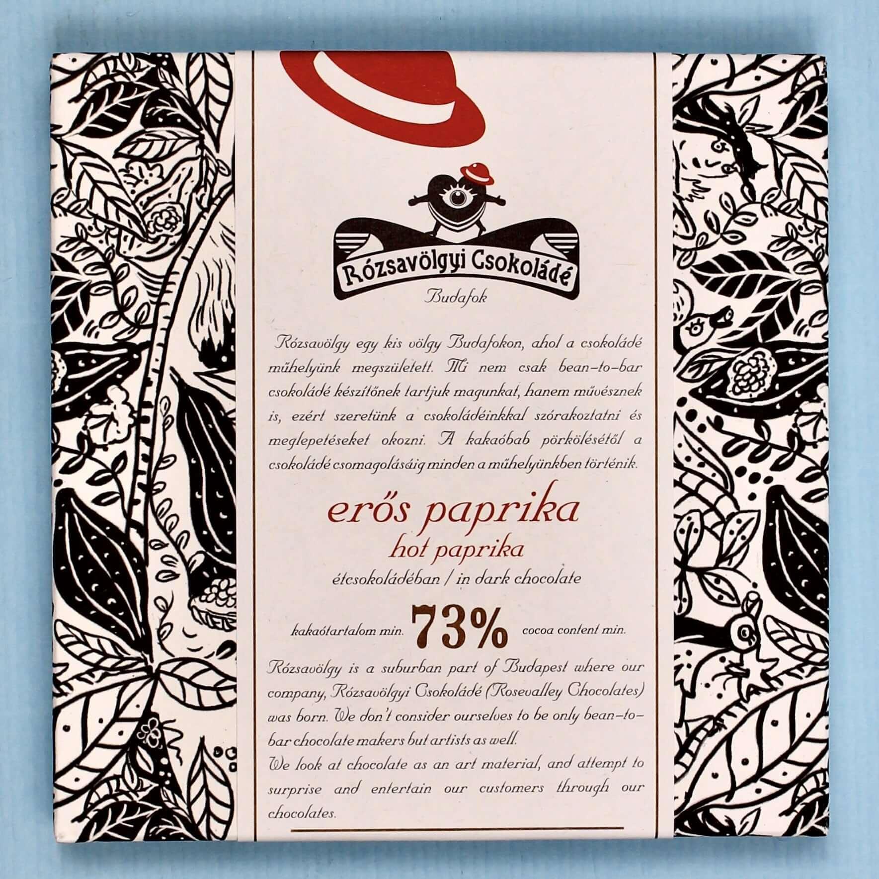rozsavolgyi csokolade hot paprika 73