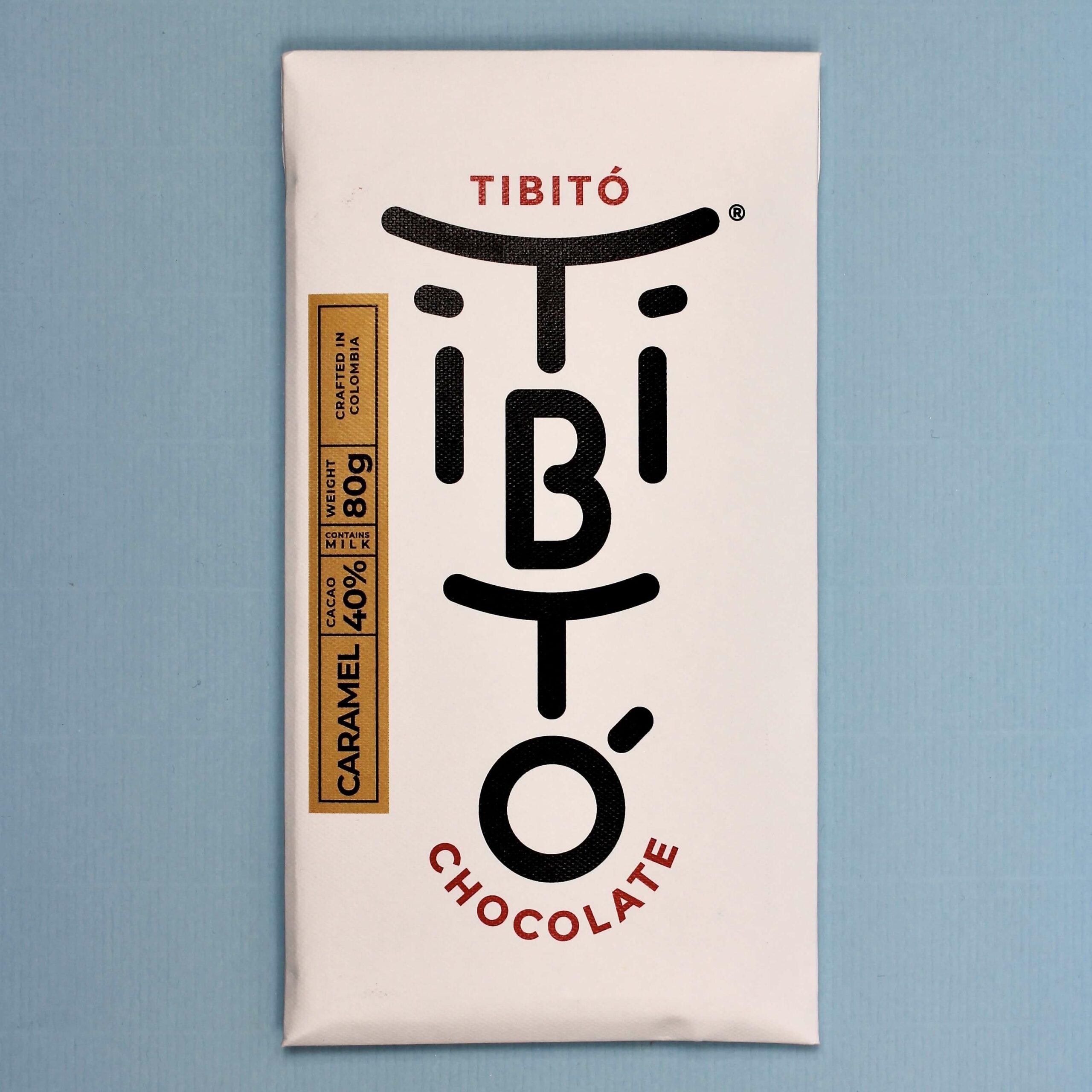 tibito chocolate colombia caramel 40
