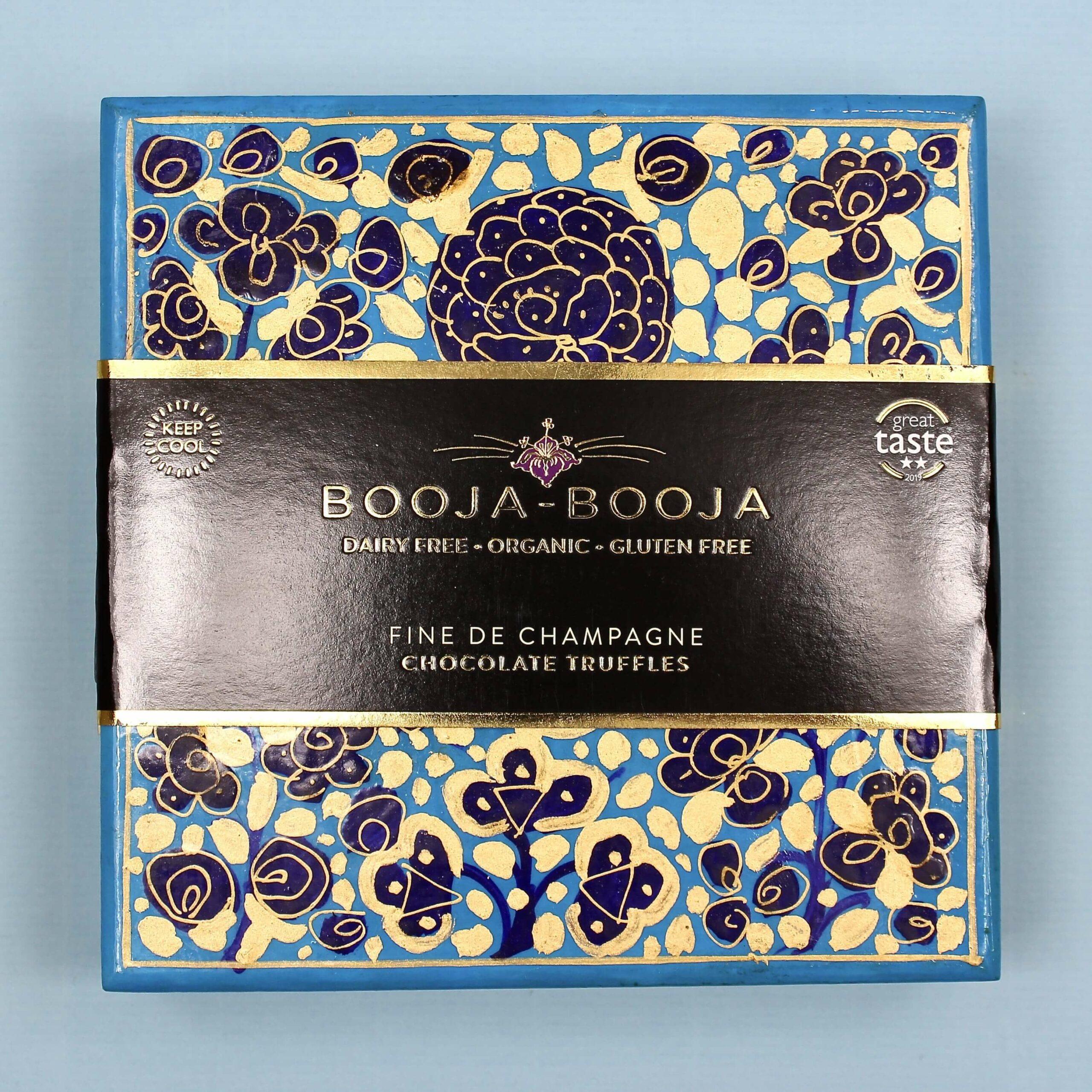 booja booja fine de champagne chocolate truffles artist collection