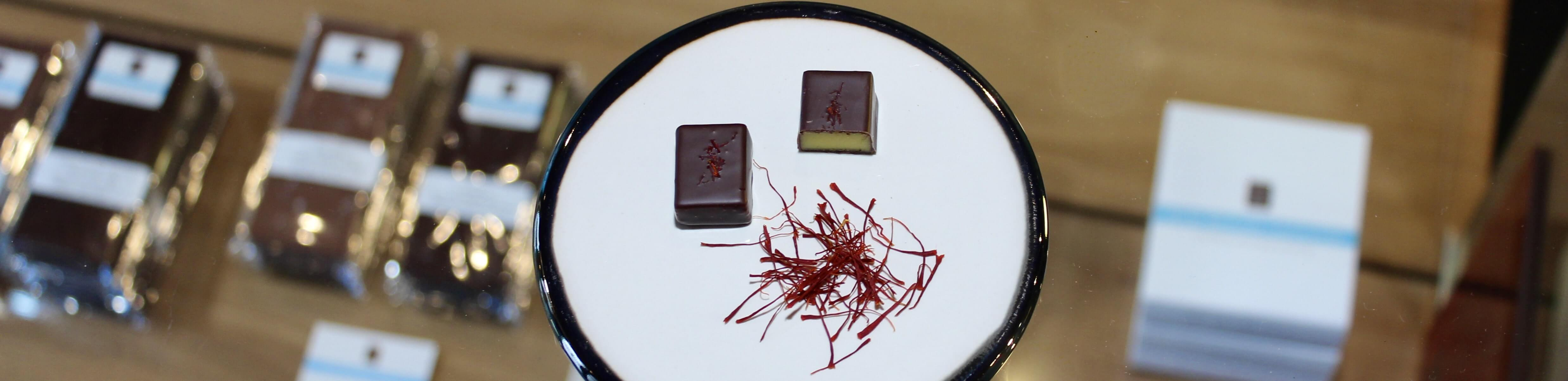 hilde devolder chocolatier chocolate with saffron spring 2020
