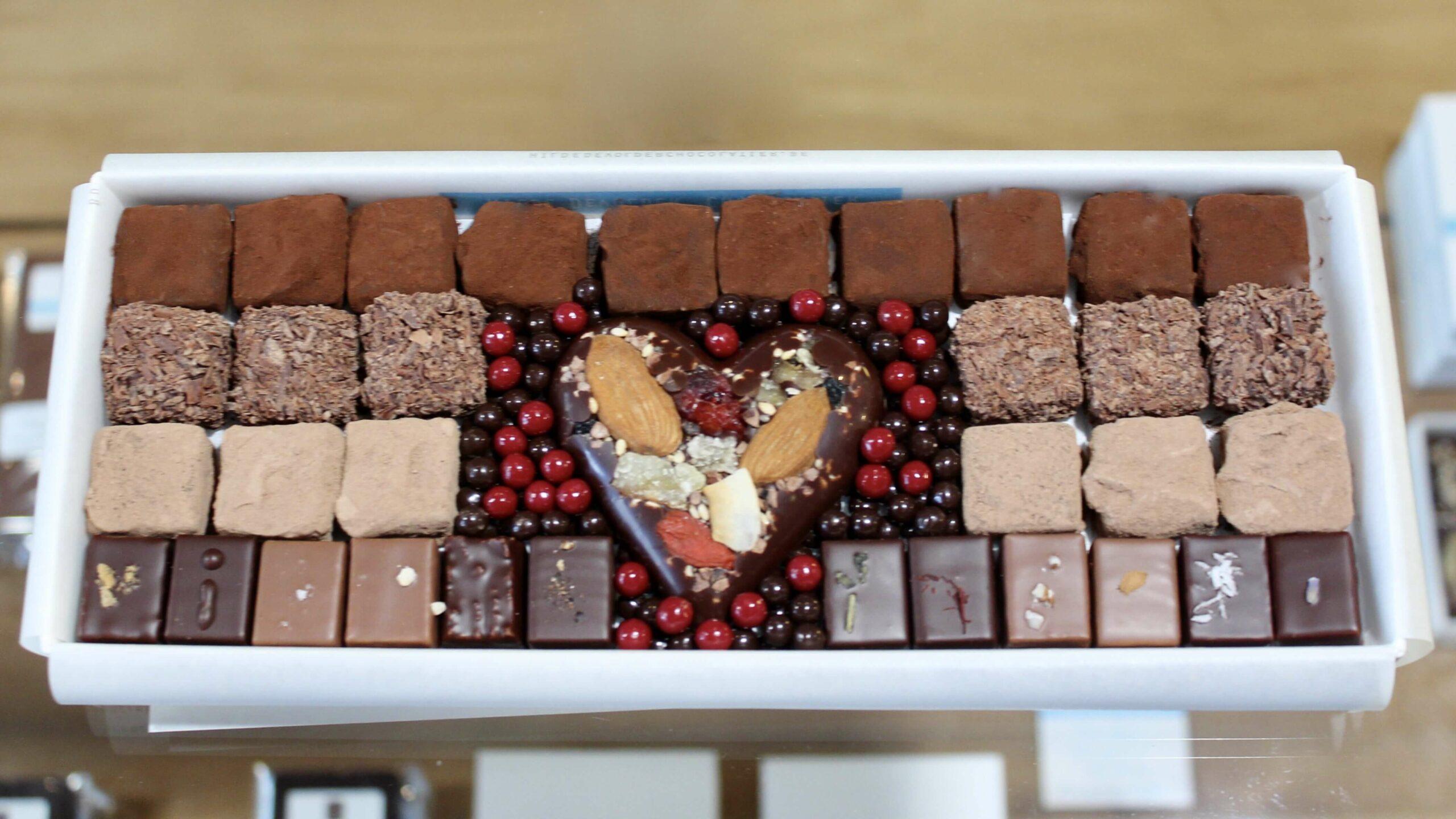 hilde devolder chocolatier fathers day 2020 big box