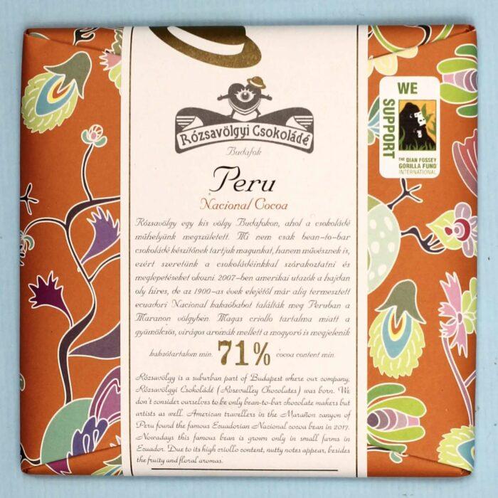 rozsavolgyi csokolade peru 71 national cocoa