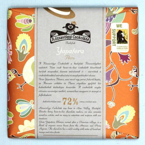 rozsavolgyi csokolade peru 72 yapatera