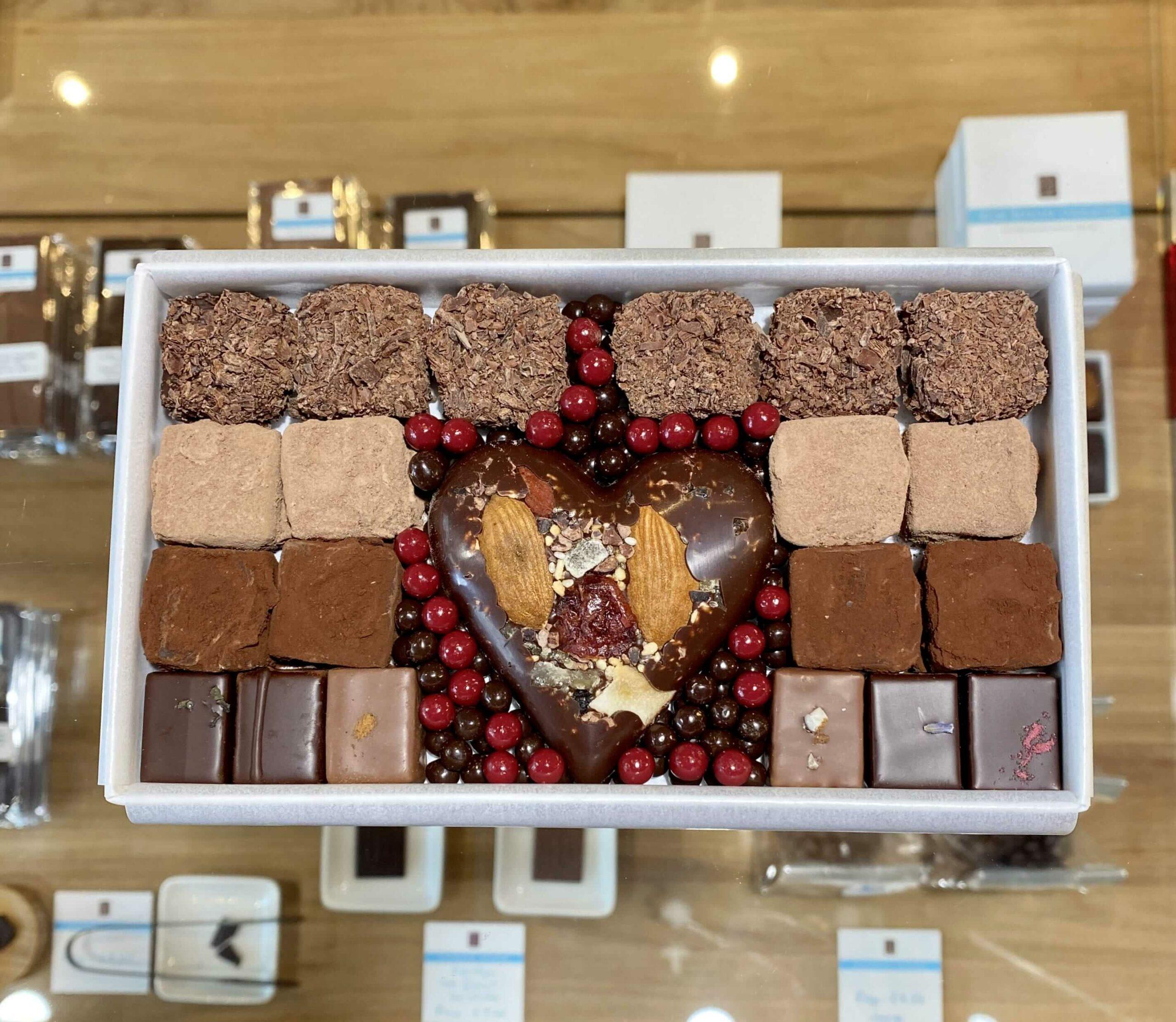 hilde devolder chocolatier fathers day 2020 fourteen truffles
