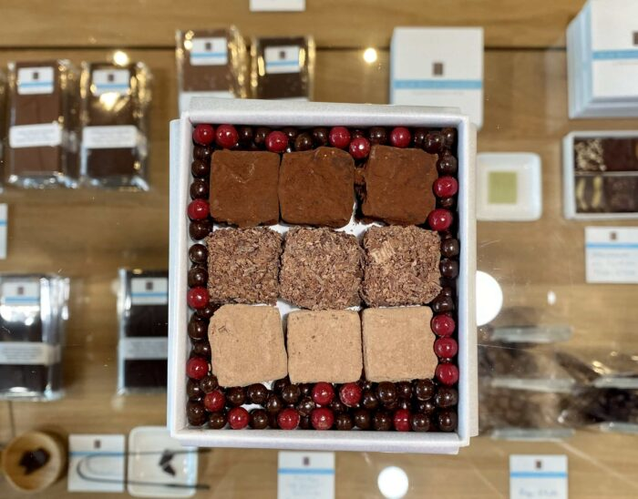 hilde devolder chocolatier fathers day 2020 nine truffles