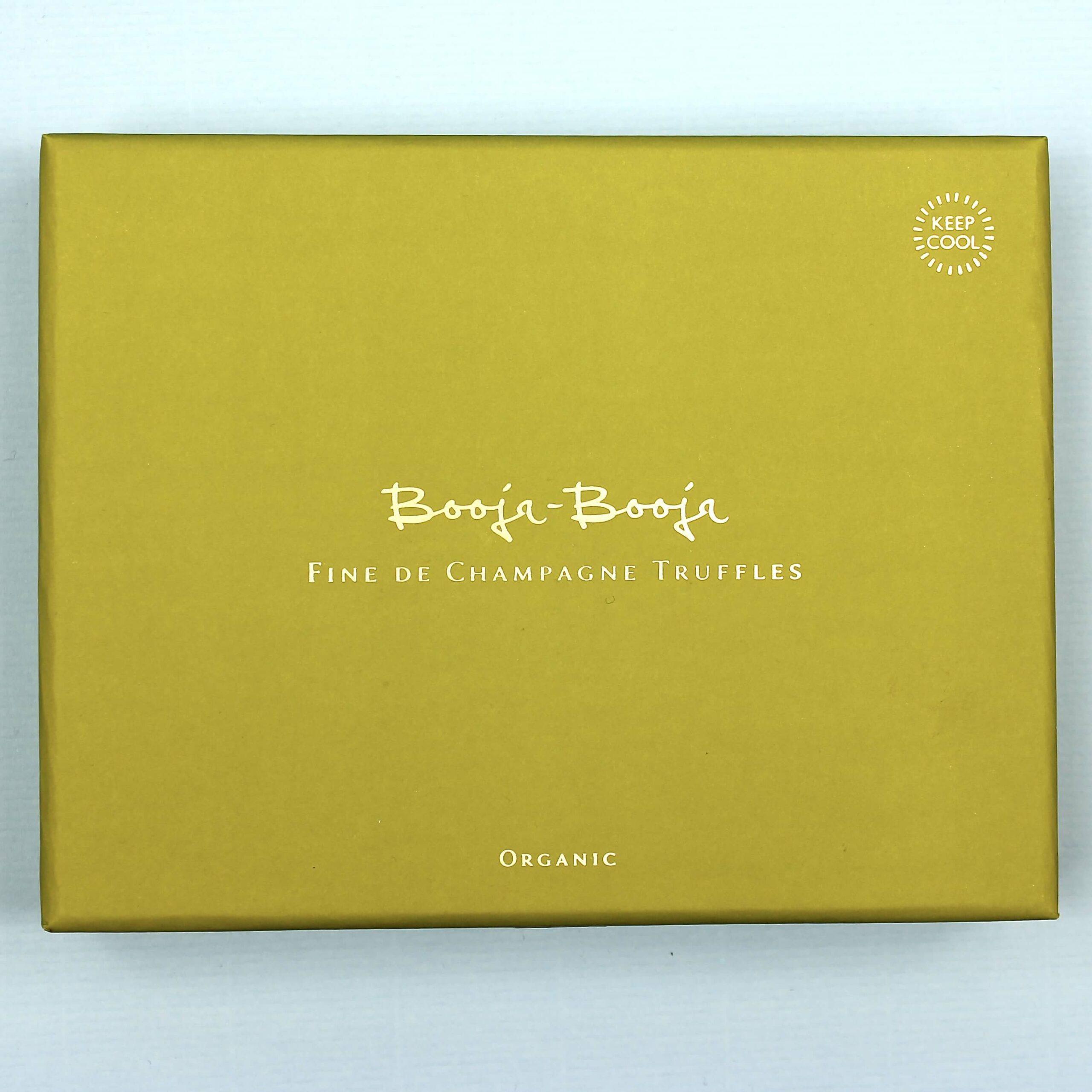 booja booja fine de champagne truffles organic