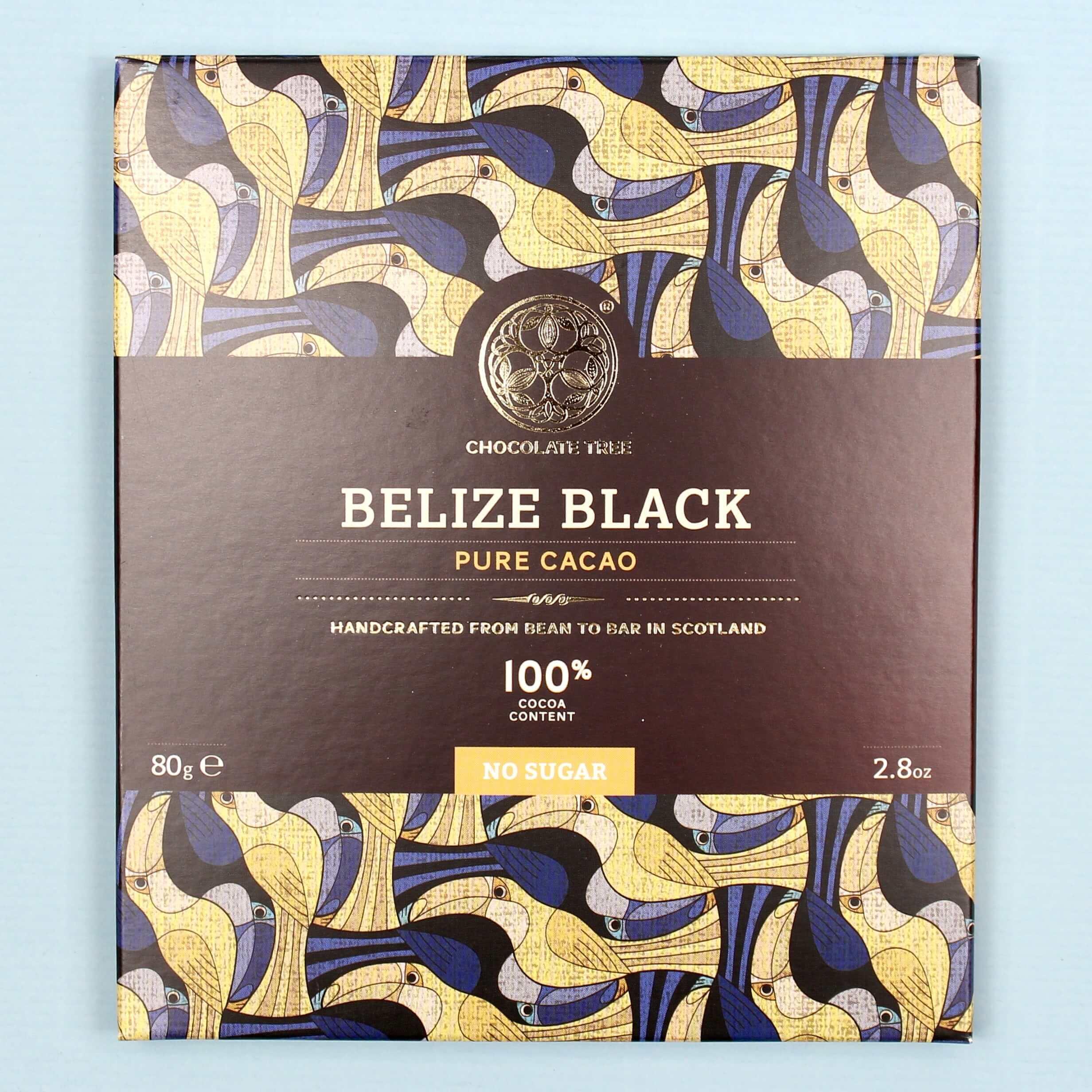 chocolate tree belize black 100