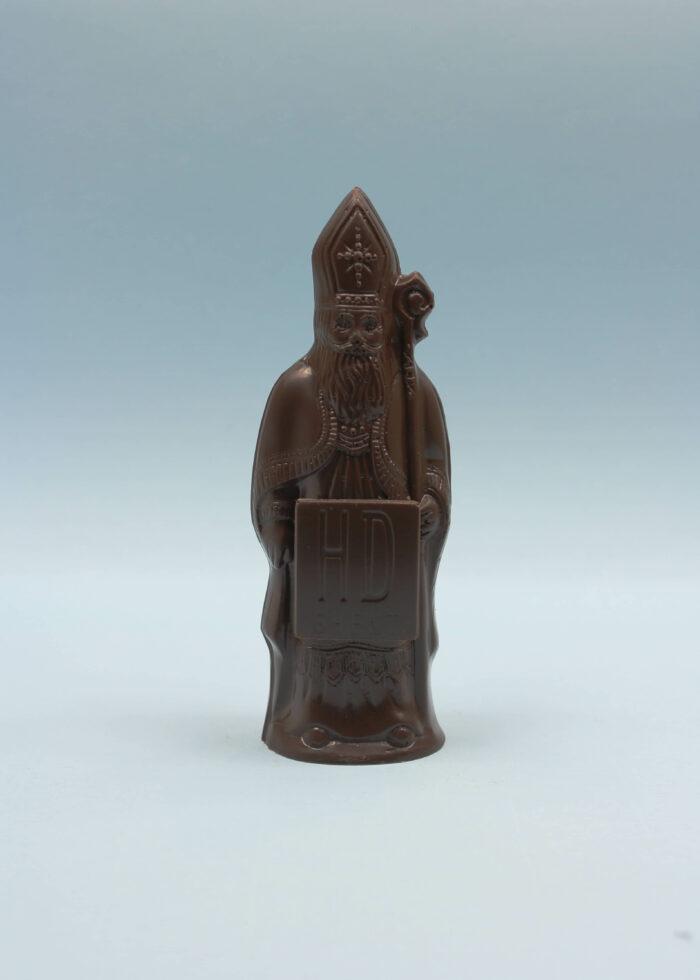hd ghent by hilde devolder chocolatier sinterklaas donkere chocolade 14 cm