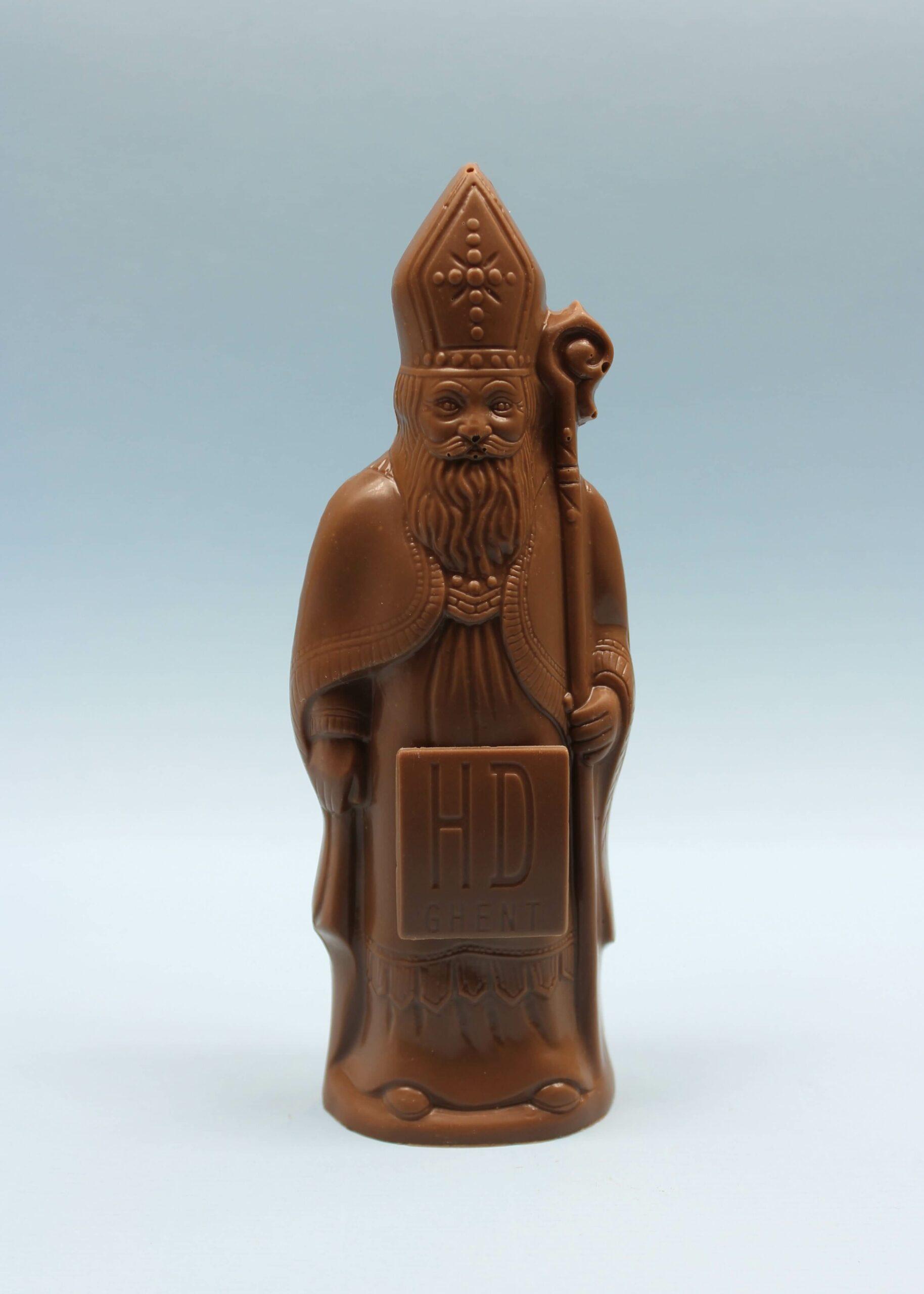 hd ghent by hilde devolder chocolatier sinterklaas melkchocolade 17 cm