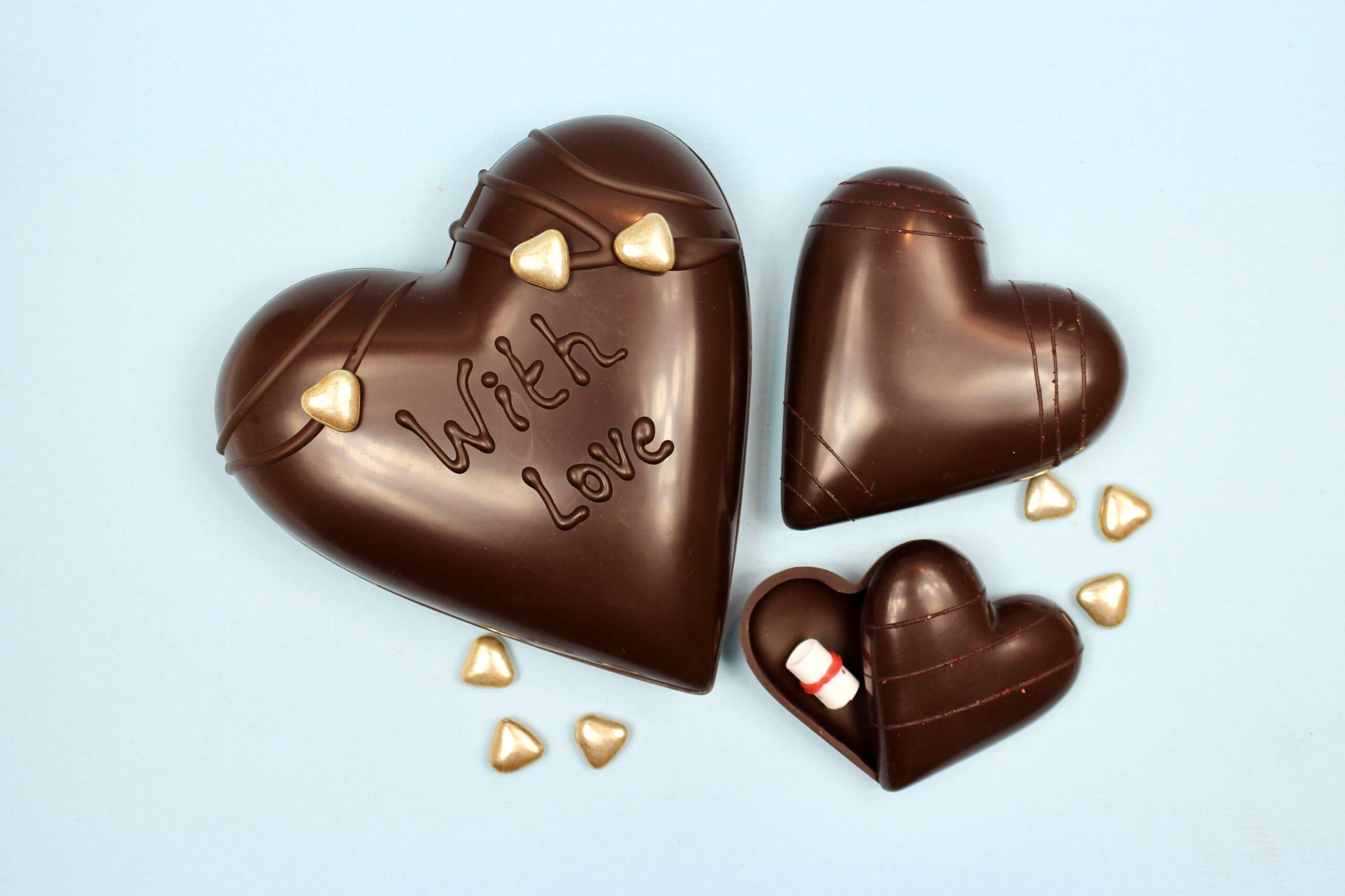 hd ghent matroeska heart dark chocolate valentine 2021 set of 3