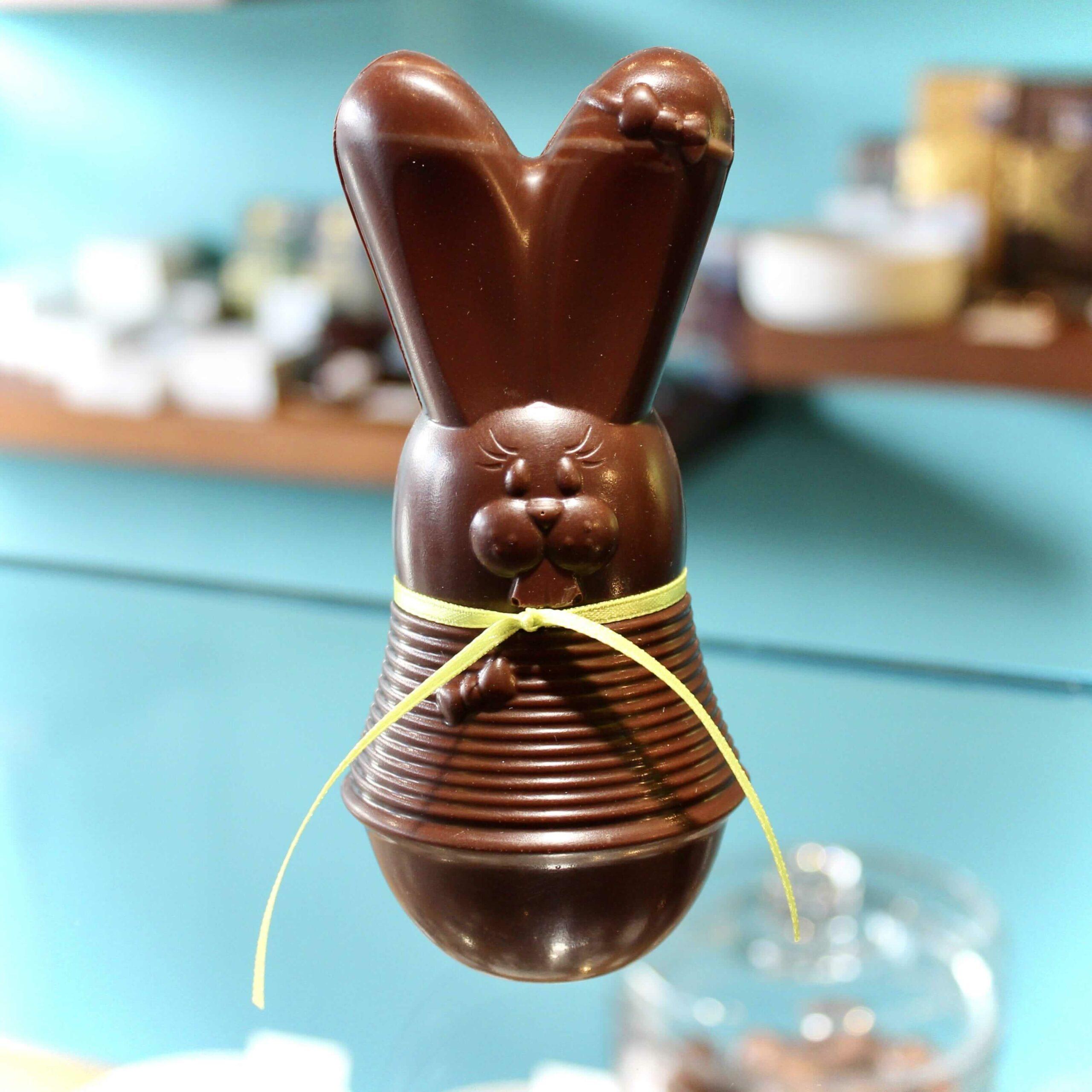 hilde devolder chocolatier easter 2021 easter rabbit 14 cm