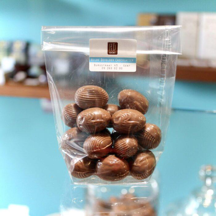 hilde devolder chocolatier easter 2021 filled easter eggs milk chocolate