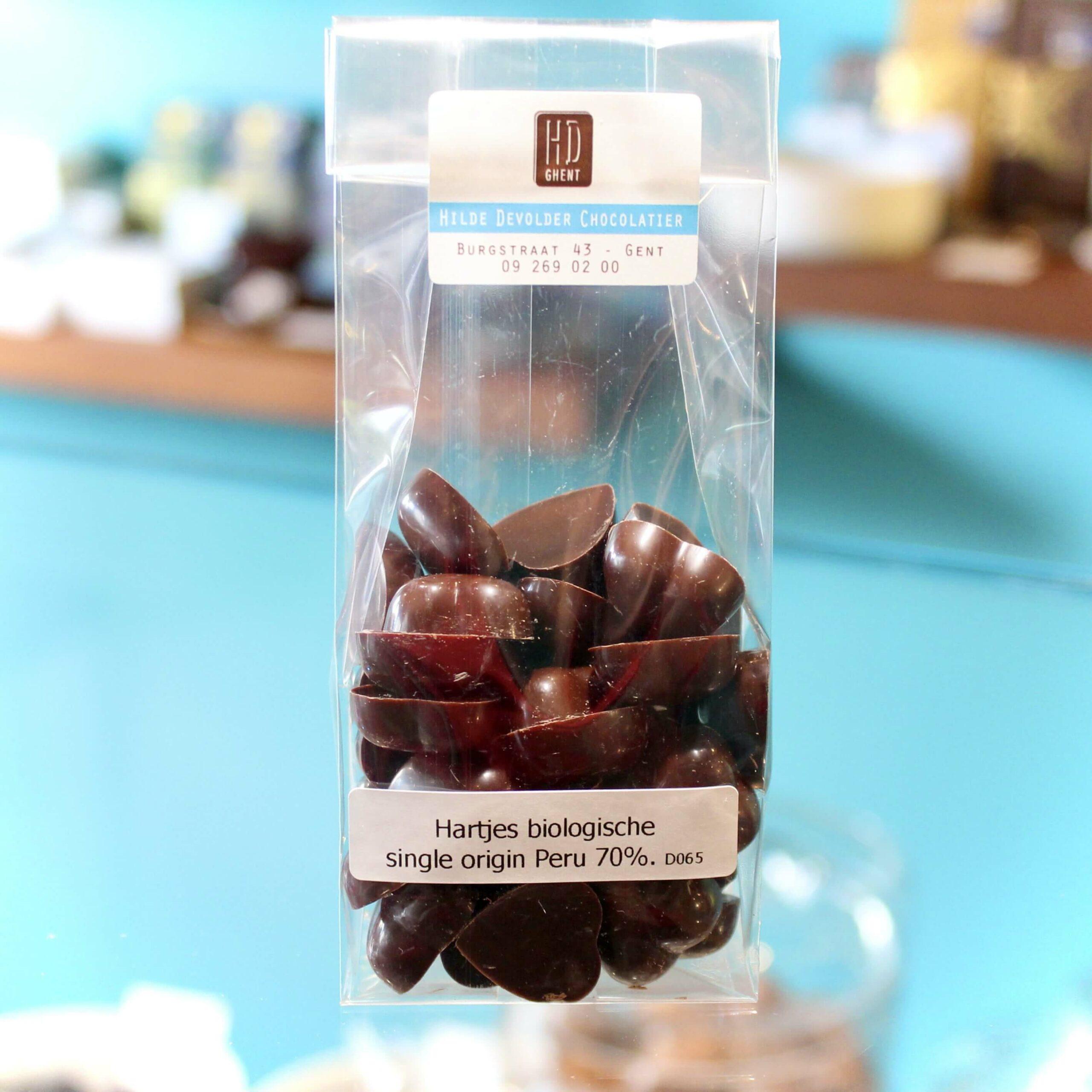 hilde devolder chocolatier hearts peru 70 organic fair trade