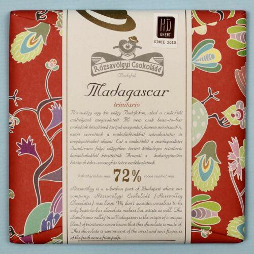 rozsavolgyi csokolade madagascar 72 trinitario
